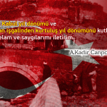 12 mart Erzurum'un kurtuluşu ve İstiklal marşımızın kabul yıl dönümü kutlu olsun