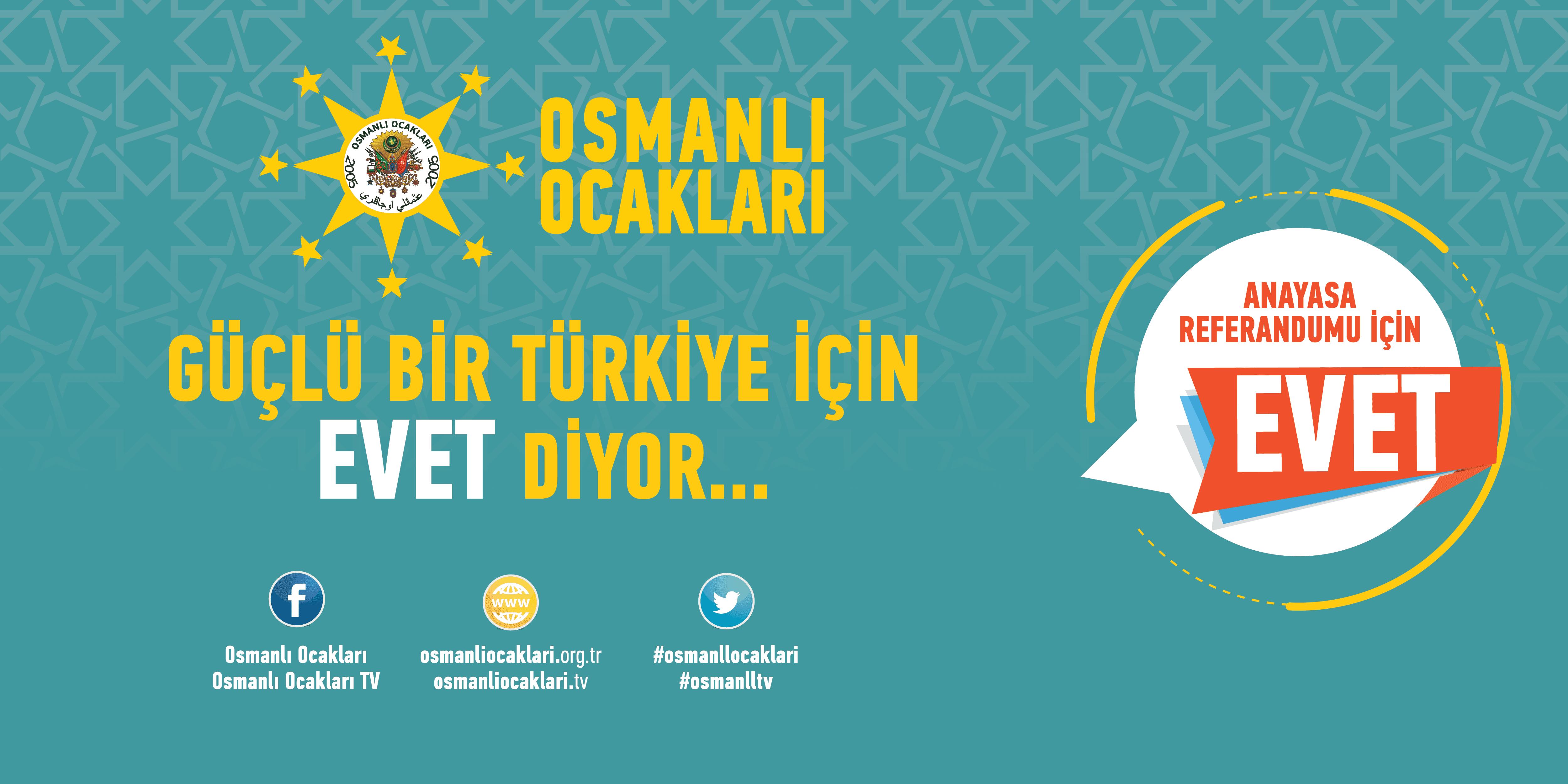 Güçlü Türkiye için C.Sistemine EVET diyoruz!