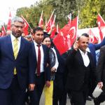 Ceylanpınar'da Mehmetçiğe Destek Yürüyüşü Düzenlendi!