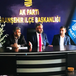 Kadir Canpolat'tan Ak Parti Viranşehir İlçe Başkanlığına Ziyaret