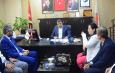 Kadir Canpolat'tan Ak Parti Kızıltepe İlçe Başkanlığına Ziyaret Etti