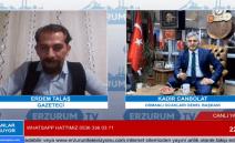 Kadir Canpolat Erzurum TV'ye Konuk Oldu